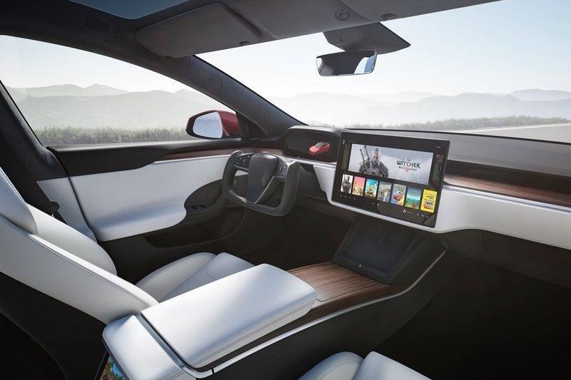 Tesla改款Model S座艙進行大幅改變。
