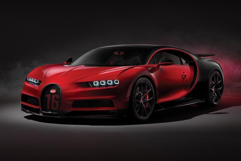 Bugatti Chiron Sport 1/4英里加速也要9.4秒。