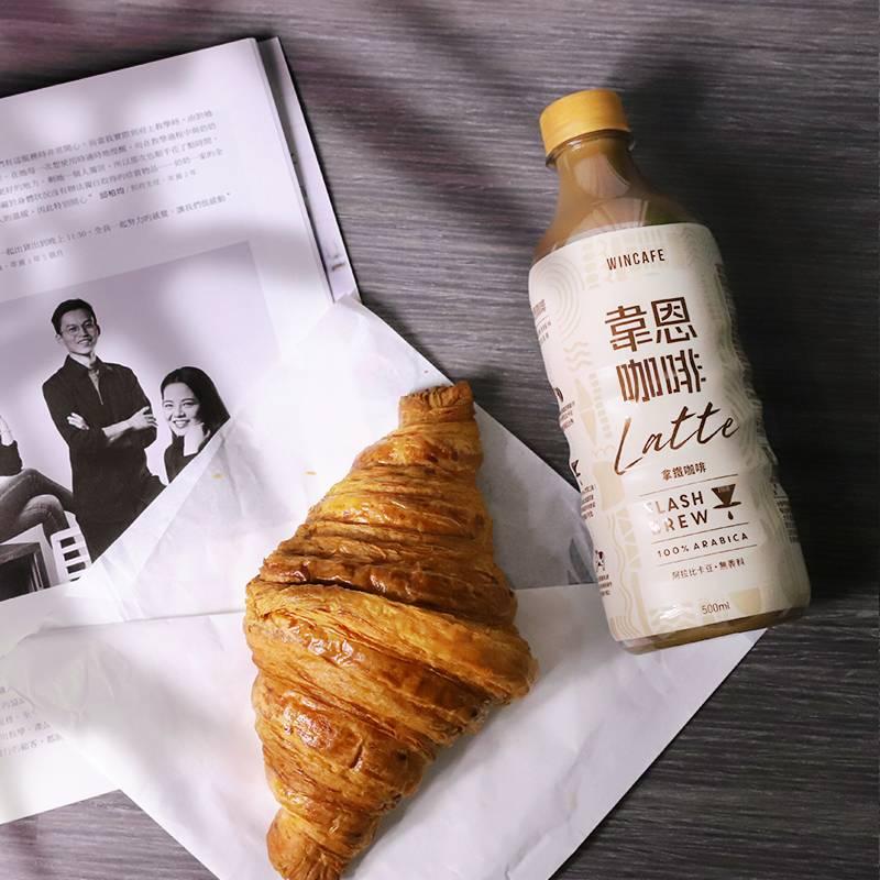 韋恩閃萃咖啡嚴選100%阿拉比卡咖啡豆、無添加香料,同時採用全新保特瓶型包裝、方便攜帶。(圖:品牌提供)