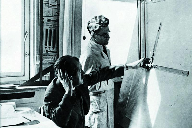 保時捷設計工作室正式成立,1931年