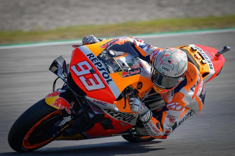 Marquez本站實力回復水準,但沒多久又發生轉導退賽。