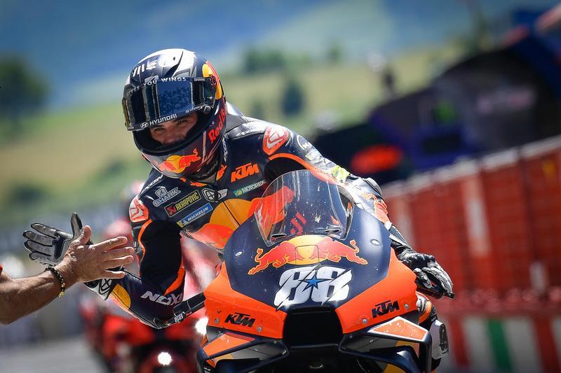 KTM成功守住排名奪下冠軍。