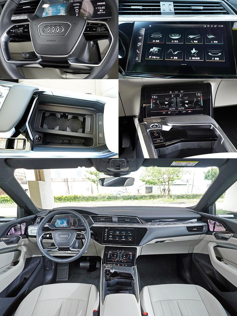 e-tron Sportback 55 quattro S line也導入了全數位化座艙,操作邏輯與其他Audi沒有太大不同,十分容易上手。