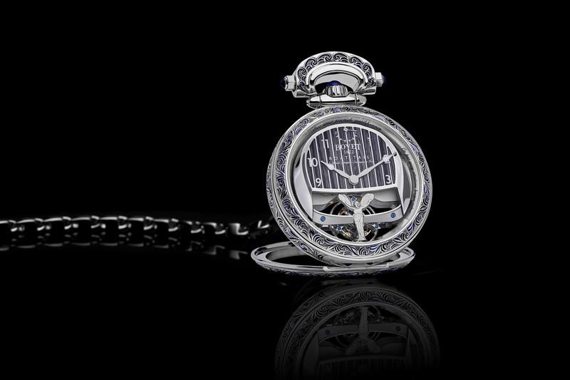 Boat Tail手錶能改以懷錶或安置於Rolls-Royce儀表平台處使用。