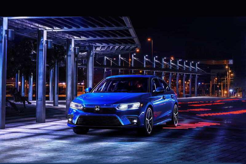 目前還不知道Civic Hatchback實際造型,但相信會有著與Civic相同設計。