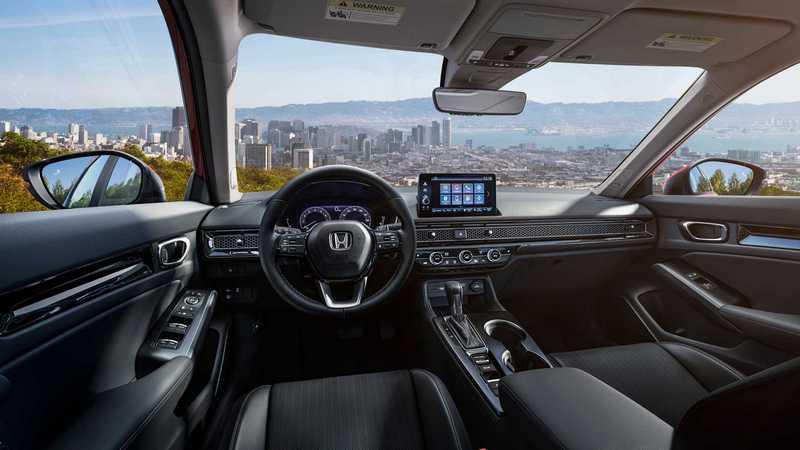 Civic Hatchback座艙也會採簡約格局。