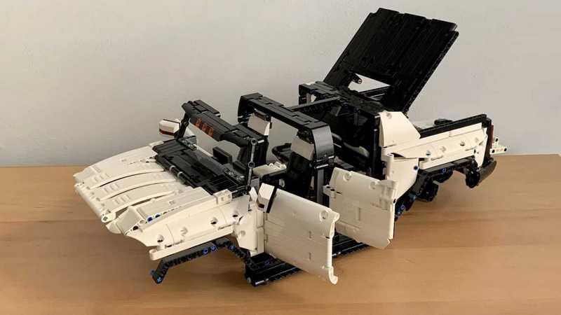 國外有名網友自行主裝出GMC Hummer EV模型,但厲害不是擬真外觀,而是超真實的動態表現。