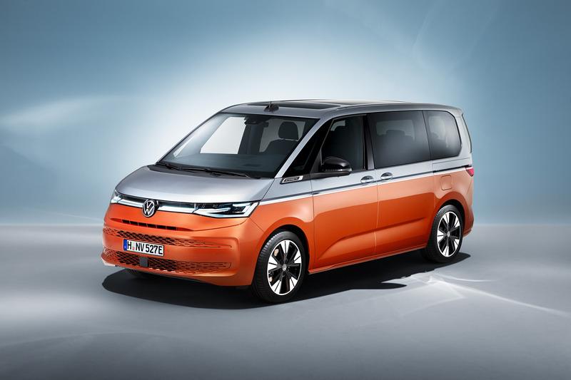 T7 Multivan導入家族設計元素後變得更圓潤且具有MPV氣息。