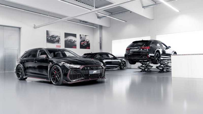 ABT推出紀念創辦人限量64輛的RS6 Avant Johann Abt Signature Edition。