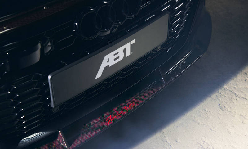 RS6 Avant Johann Abt Signature Edition當然少不了Johann Abt簽名。