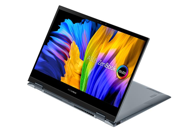 ASUS ZenBook Flip 13 OLED(UX363)通過德國萊因(TÜV Rheinland)與SGS雙重護眼認證,螢幕大幅過濾藍光,加倍守護視力。(圖:品牌提供)