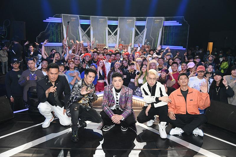 【車勢星聞】《大嘻哈時代》讓台灣觀眾更了解什麼是「嘻哈文化」。(圖:三立提供)