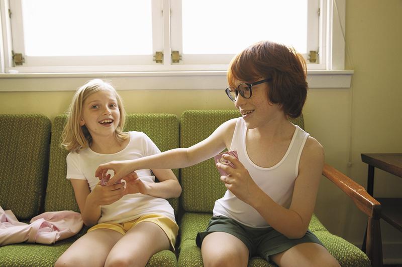 Uniqlo「宅家感謝祭」男女童裝AIRism棉質系列指定款。(圖:品牌提供)
