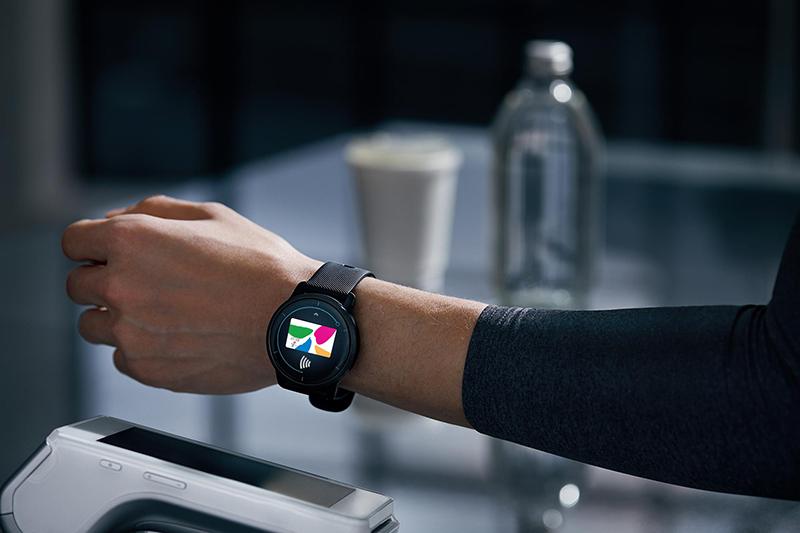 Garmin全新「Venu 2系列GPS智慧腕錶」內建多項智慧提示、悠遊卡及Garmin Pay行動支付。(圖:品牌提供)