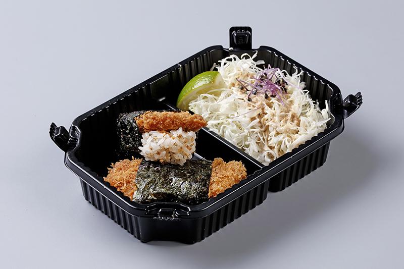 勝政 勝勢_里肌豬排握壽司(二貫)99元。(圖:品牌提供)