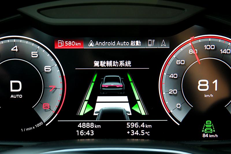 完整半自動駕駛與智慧駕駛輔助系統一應俱全。