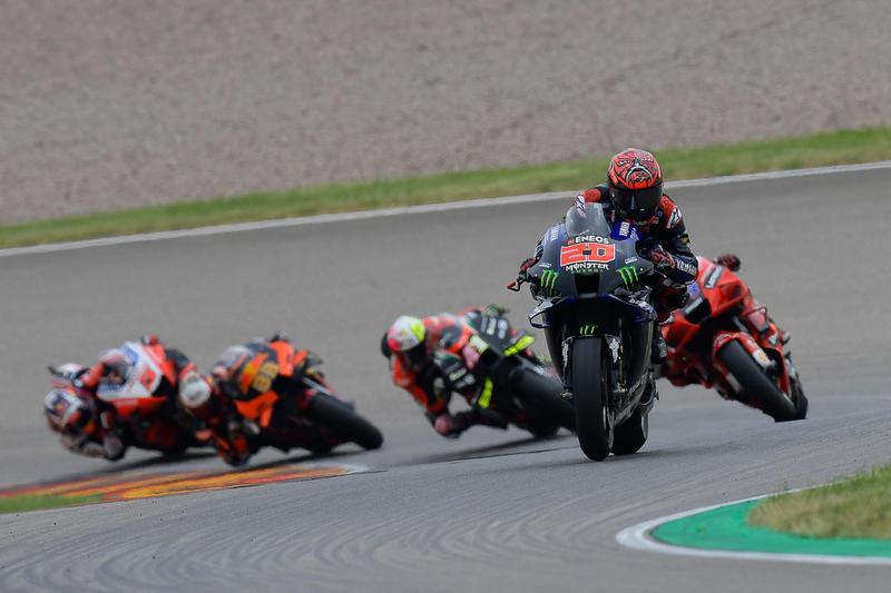 Quartararo於本站是Yamaha車隊唯一騎最好的車手。