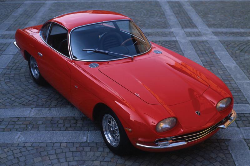 Lamborghini 350 GT於1964年日內瓦車展發表。
