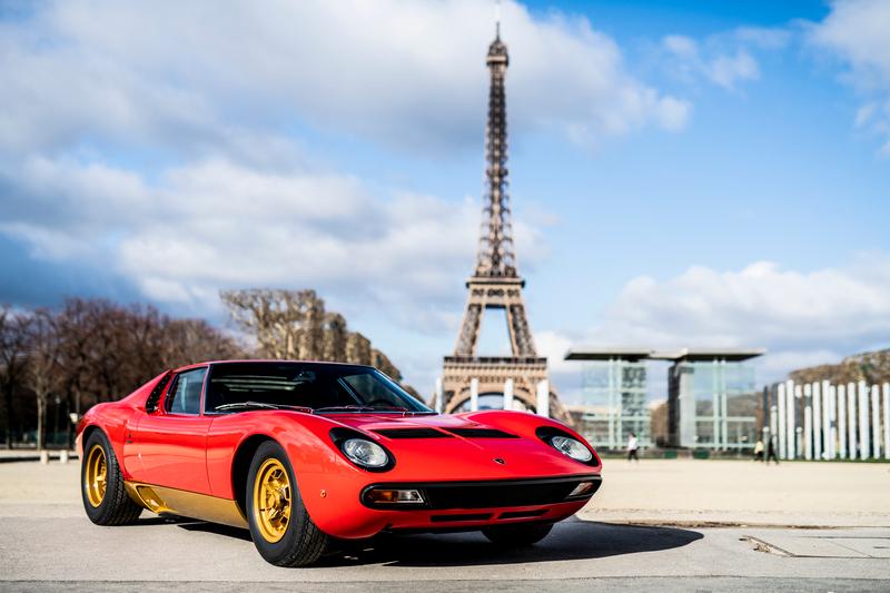 Miura於當時堪稱當時代最速量產車。