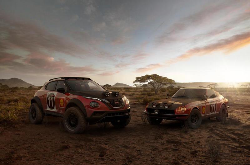 Nissan Juke Rally TributeConcept設計與配色靈感來源是當年240Z賽車。