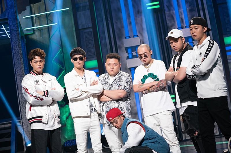 【車勢星聞】《大嘻哈時代》進入全新賽制Cypher,同組的選手們既是隊友也是敵人。(圖:三立提供)