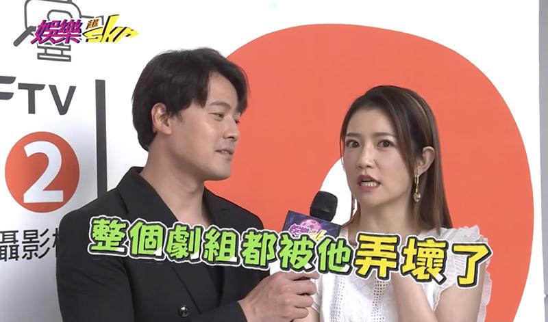 【車勢星聞】《多情城市》劇中演出黃文星妹妹的郭亞棠表示整個劇組都被黃文星玩壞了。(圖:民視提供)
