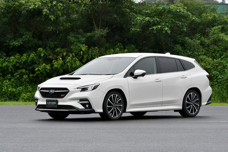 Subaru尚未公布WRX完整造型,但預計應會有著和Levorg相似造型。
