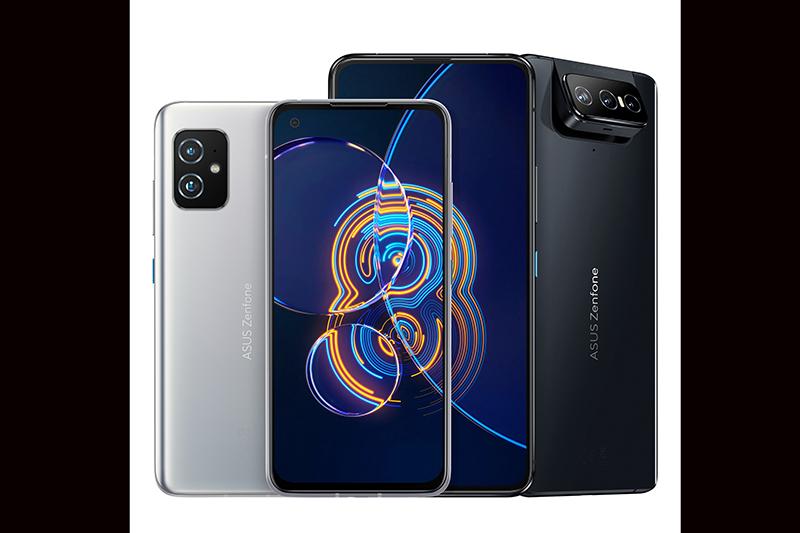 華碩獨家翻轉手機ASUS Zenfone 8 Flip即日起於五大電信開賣,搭配資費方案,購機優惠價NT$2,990起;ASUS Zenfone 8最低NT$0 起。(圖:品牌提供)