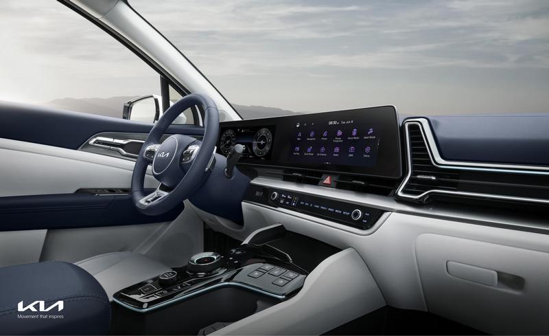 數位儀表與中控螢幕皆為12吋。