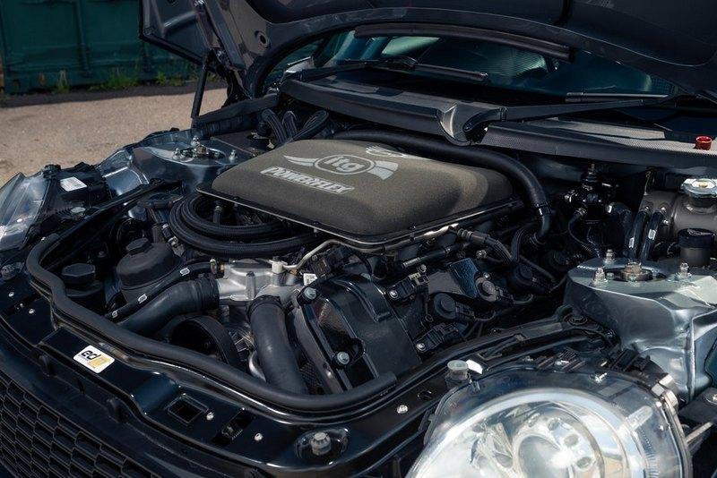 Powerflex將Mini R56動力換成M3 4.0升V8引擎。