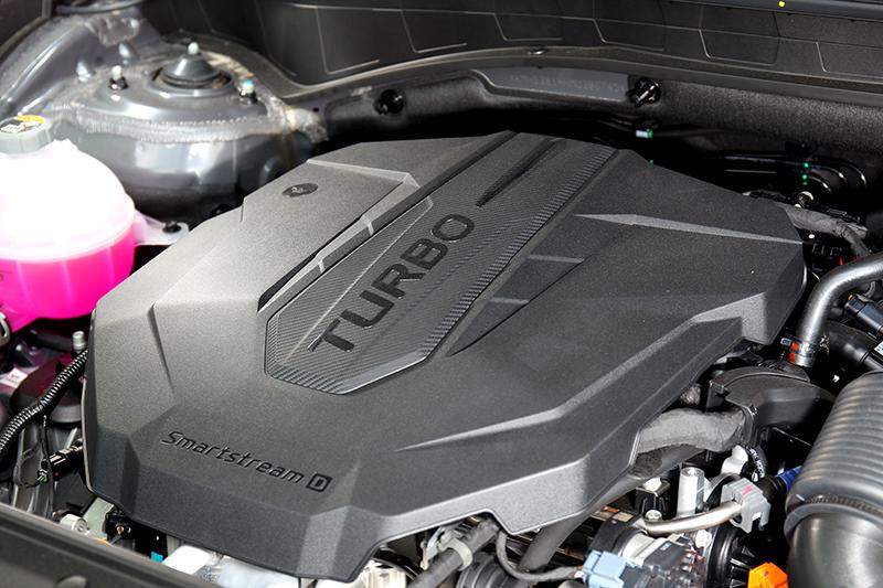 新世代Smartstream引擎動力微幅成長至202hp/45kgm。