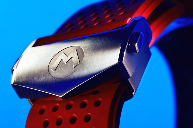 TAG Heuer Connected x Super Mario 限量版智能腕錶, 參考編號SBG8A13.BT6254全球限量2,000支,建議售價70,700元。(圖:品牌提供)