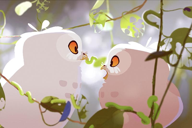 《咻咻歷險記》曾獲2020年安錫國際動畫影展最佳電視動畫水晶獎。(圖:公視提供)