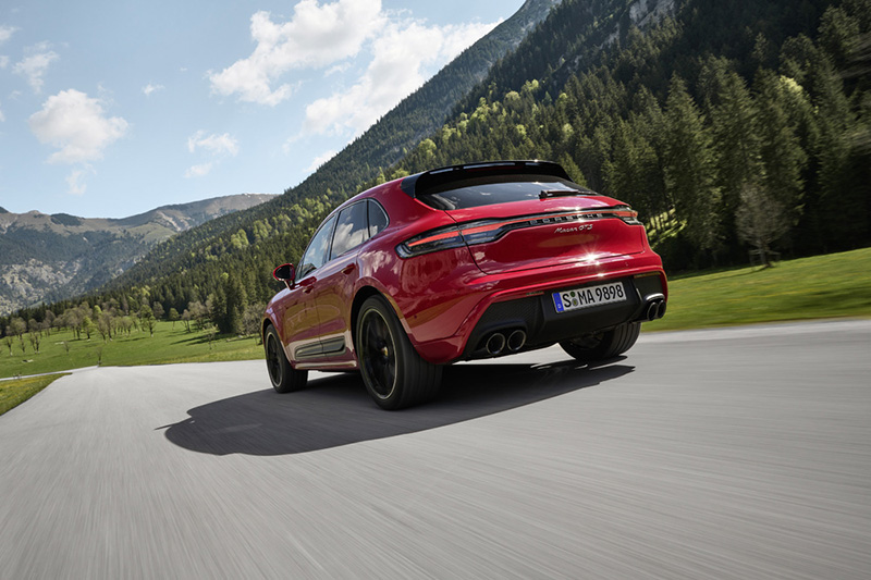 Macan GTS標配跑車化氣壓懸載系統,車身降低10 mm。