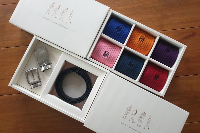 Oringo林果良品推出兩款禮盒,父親節、七夕禮物這樣送。(圖:品牌提供)
