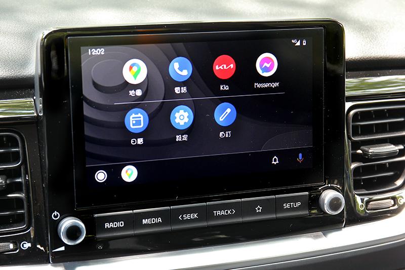 不分等級全車系標配8吋觸控螢幕與無線AppleCarplay/Android Auto。