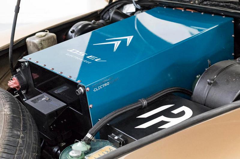動力改為電動系統具有120hp/23.9jgm輸出與225公里續航里程。