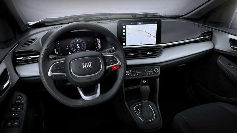 中控配置10吋螢幕,並具備Apple CarPlay功能。