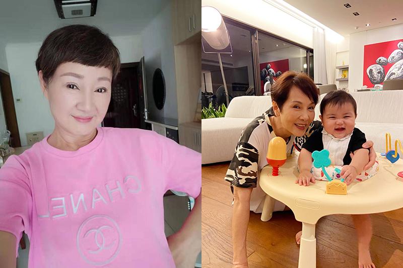 【車勢星聞】《粉紅色時光》鮑正芳懷念台灣美食,林秀君學煮菜、國標舞。(圖:TVBS提供)