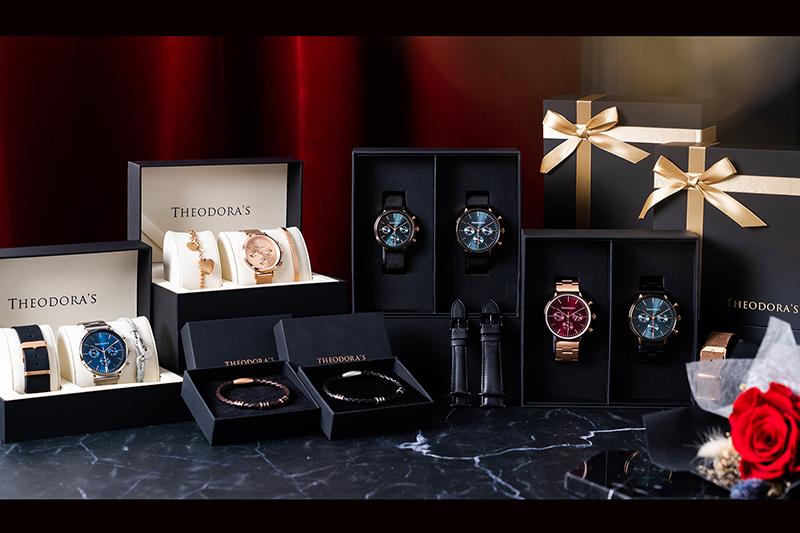 台灣腕錶品牌希奧朵拉Theodora's於今年七夕情人節隆重推出限定禮盒。(圖:品牌提供)