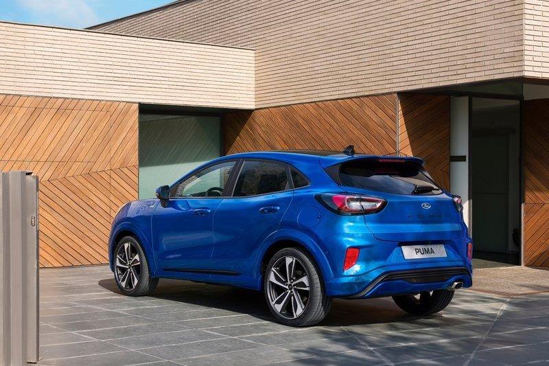 Puma在2021年上半年繳出超過8.3萬銷售成績成為Ford歐洲最暢銷車款。