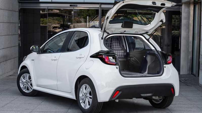 Toyota在西班牙推出Yaris ECOVan商用車。