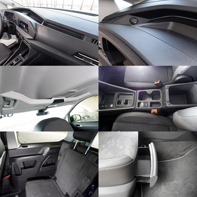 座艙內部亦整合許多便利的大型儲物空間設計。