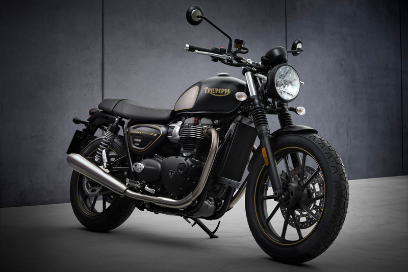 Street Twin Gold Line Limited Edition