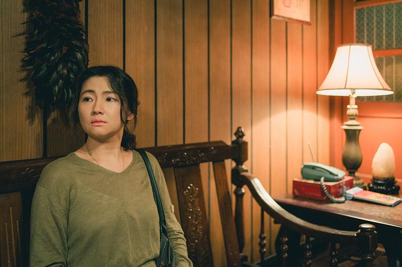 【車勢星聞】《頭七》任家萱Selina對於鬼月在老宅拍攝鬼片,心中感到些許不安。(圖片:皮諾丘電影提供)