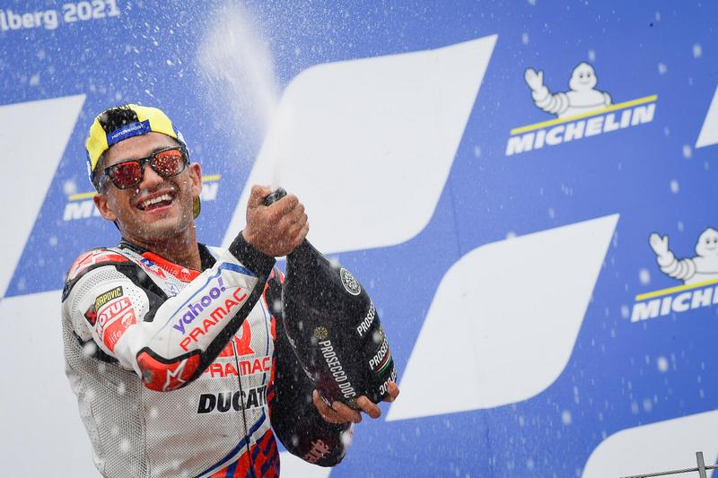 Martin本站摘下MotoGP生涯首座分站冠軍。