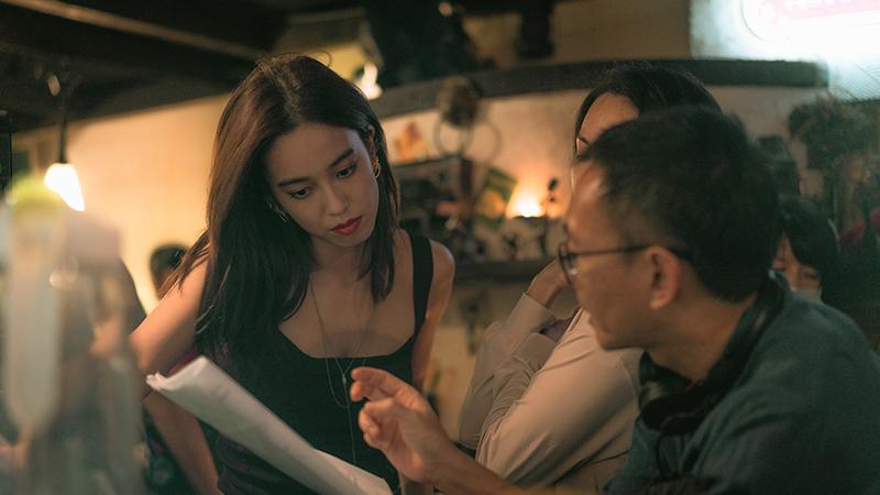 【車勢星聞】陳庭妮認為電影《青春弒戀》資訊量大,眼睛看到的不一定是事情的本身。(圖:電影《青春弒戀》提供)