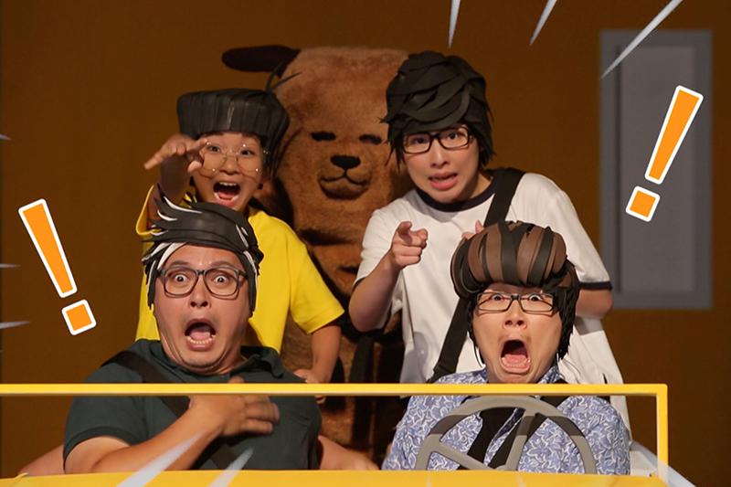 【車勢星聞】兒童劇場版《小兒子阿甯咕》配合劇情推出15首音樂MV。(圖:三立提供)