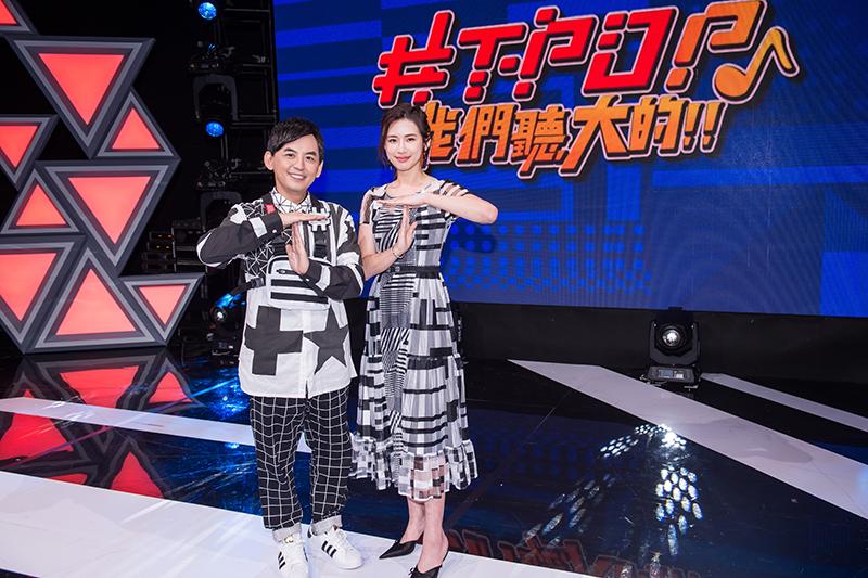 【車勢星聞】黃子佼復錄《#T-POP》,感謝藝人朋友「從春天等到秋天」。(圖:TVBS提供)