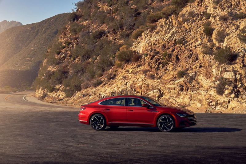 北美近日推出2022年式Volkswagen Arteon。